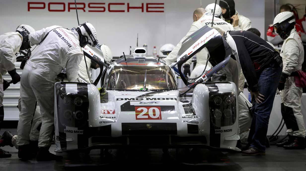Der Porsche 919 Hybrid
