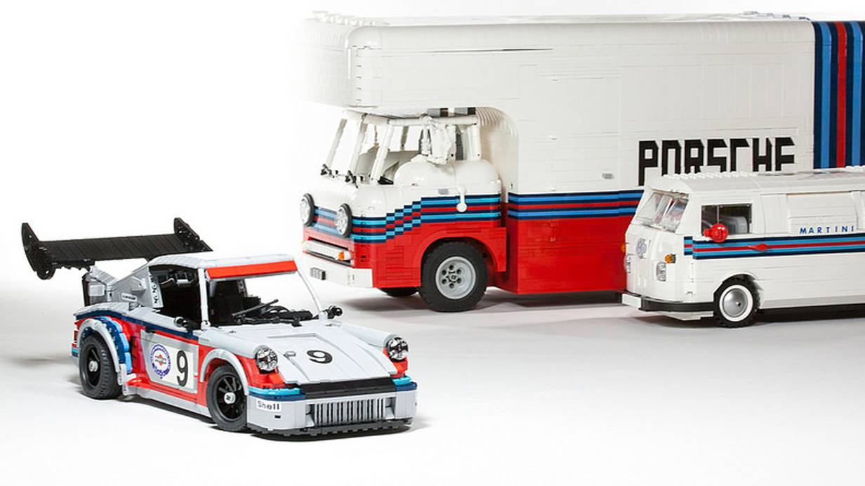 Porsche Martini Racing Lego
