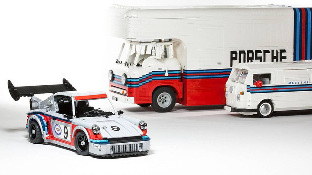 Porsche Martini Racing Lego
