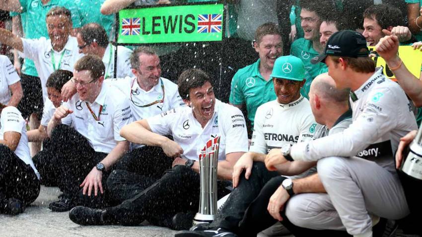 Lewis Hamilton Malaysia 2014