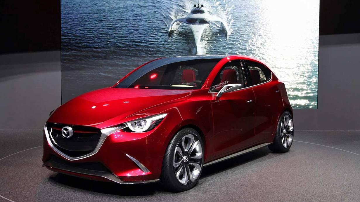 Der Hazumi ist Designbotschafter. Bleibt zu hoffen, dass beim Mazda 2 möglichst viel davon ankommt.