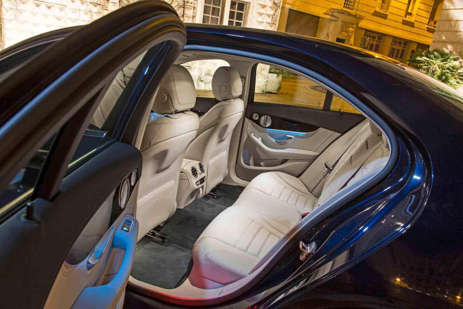 Der Mercedes C 250 Bluetec