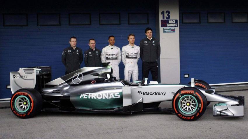 Das neue Mercedes-Rennauto