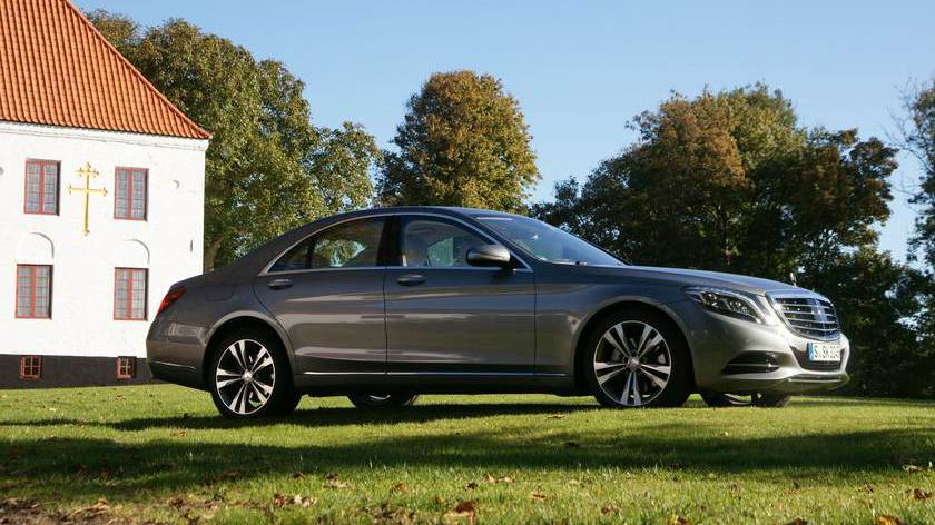 Mercedes s-klasse car of the year wahl