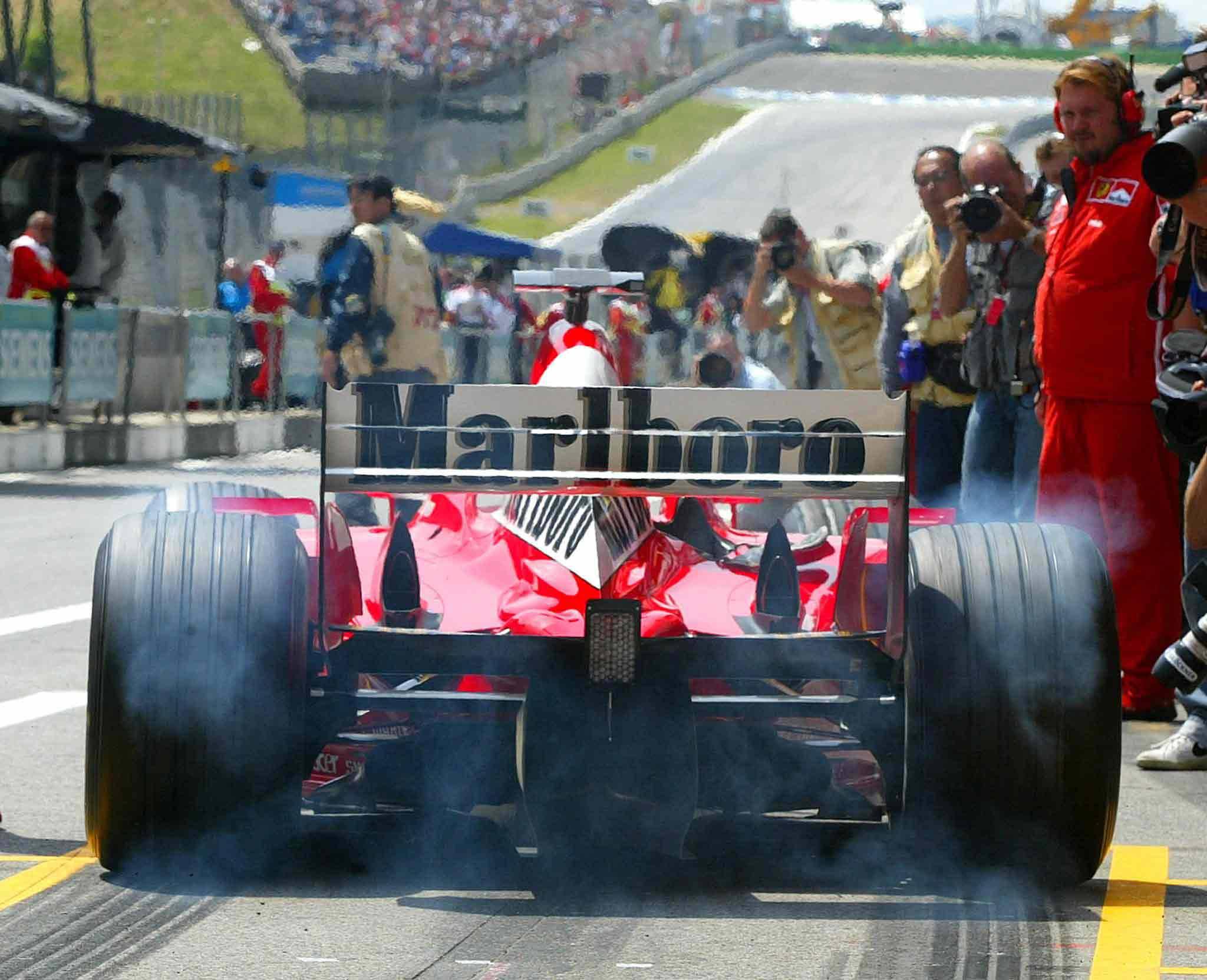 Michael Schumacher 2003 in Spielberg