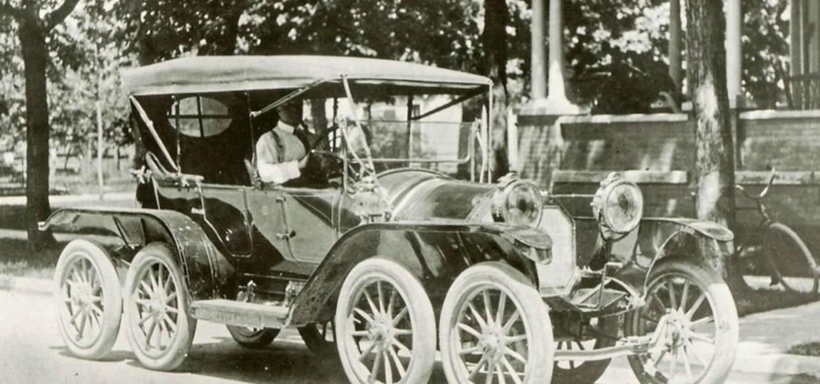 Skurrile Autos der Geschichte das Octoauto von Milton Reeves