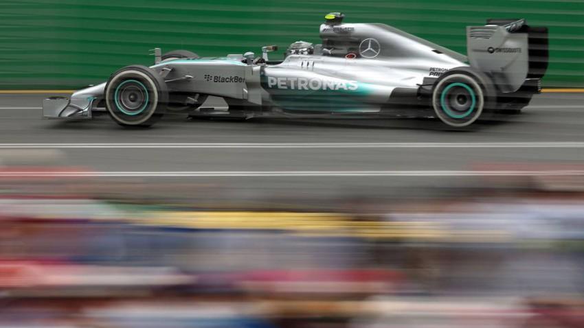 Nico Rosberg im Mercedes W05