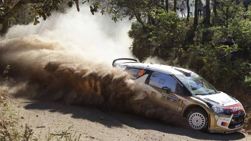 Mads Östberg bei der Rallye Mexico