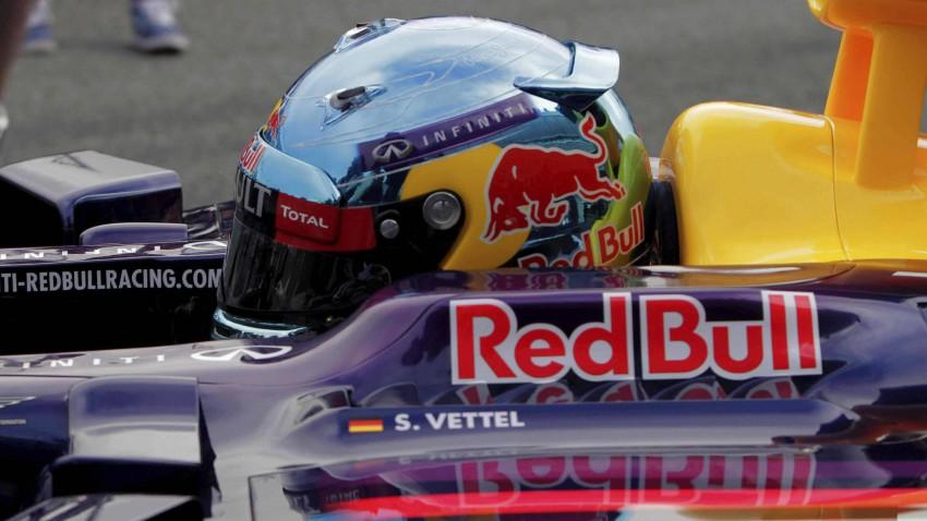 Sebastian Vettel im RB10