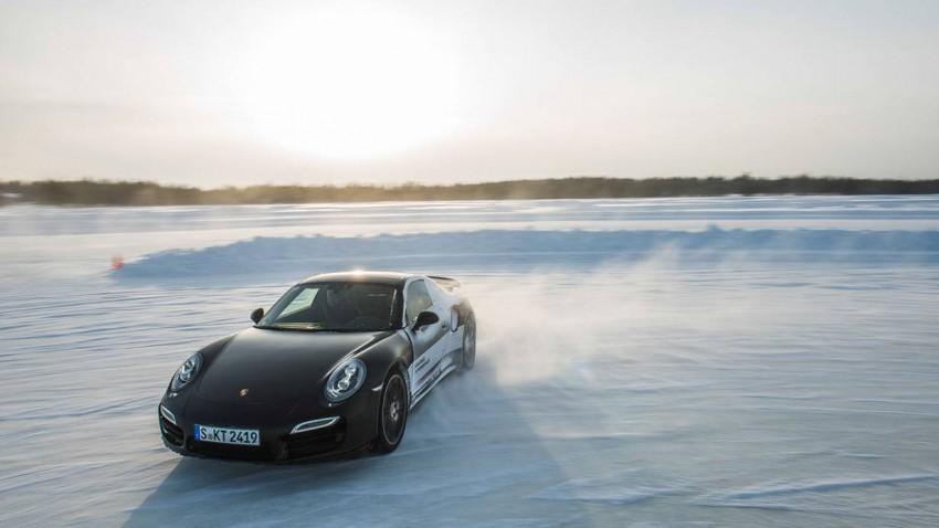 Fahrbericht: Porsche 911 turbo auf Eis