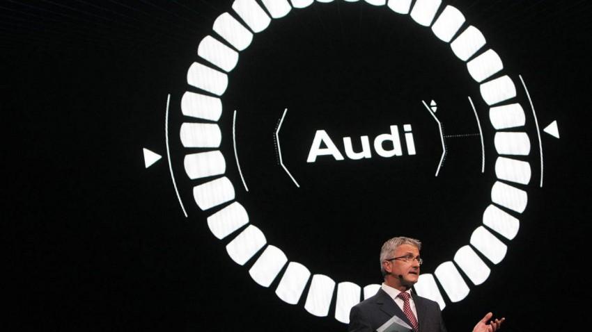 Audi-Vorstandsvorsitzender Rupert Stadler auf der IAA 2013