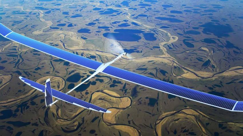 Eine Drohne von Titan Aerospace