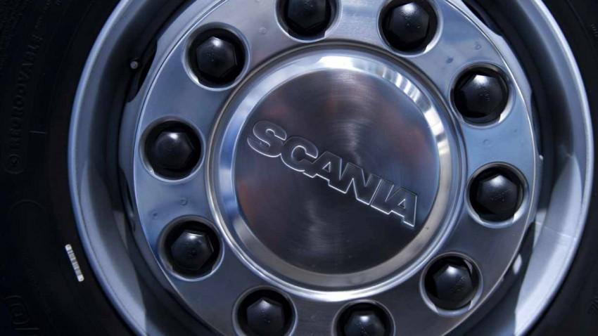 Lkw-Felge von Scania