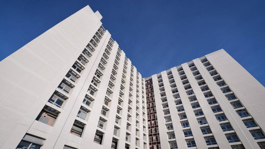 Die Universitätsklinik in Grenoble