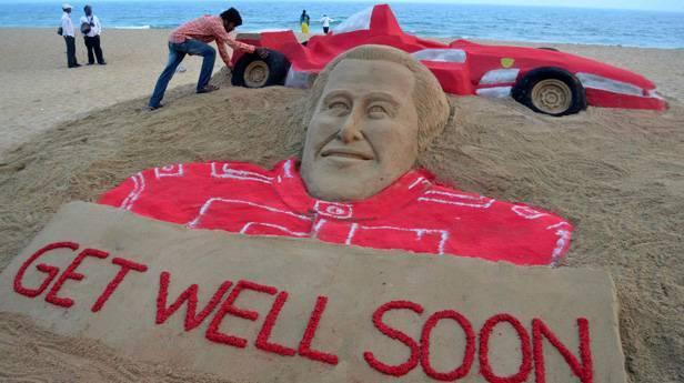 Michael Schumachers Skiunfall: Meldungen vom Jänner 2014