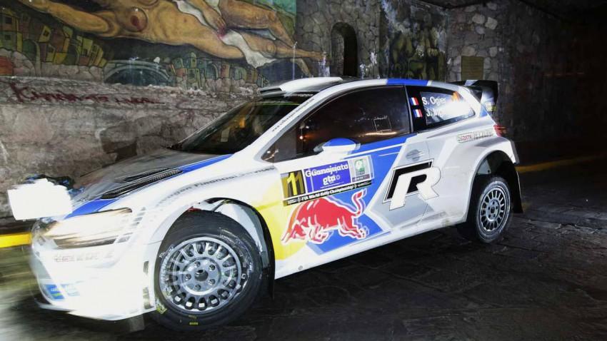 Sebastien Ogier bei der Rallye Mexico