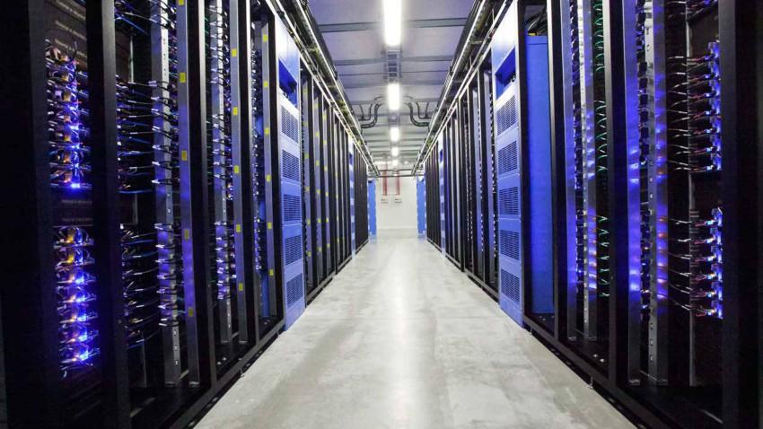Serverraum von Facebook