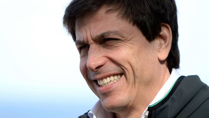 Toto Wolff in Melbourne 2014