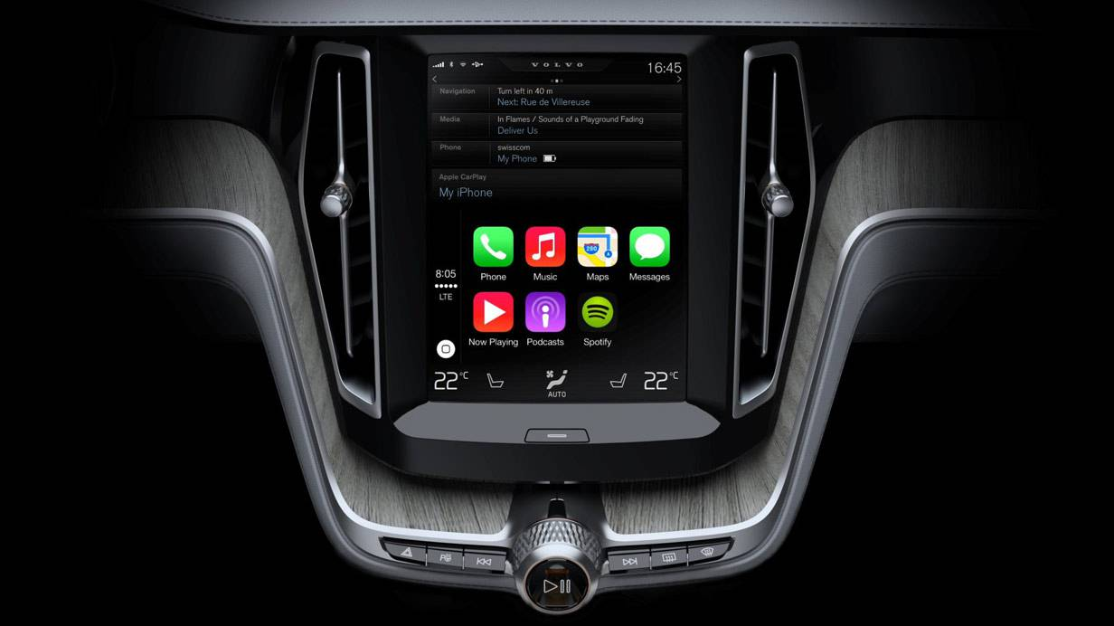 Volvo Display