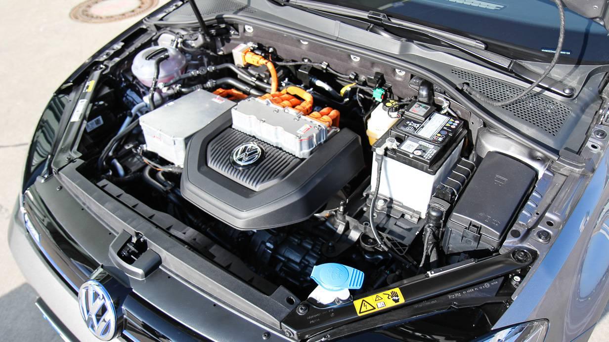 85kW und 270Nm leistet die Eigenentwicklung von VW.