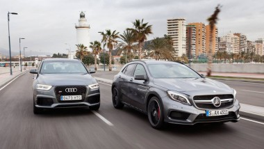 Audi RS Q3 Vs. Mercedes GLA 45 AMG