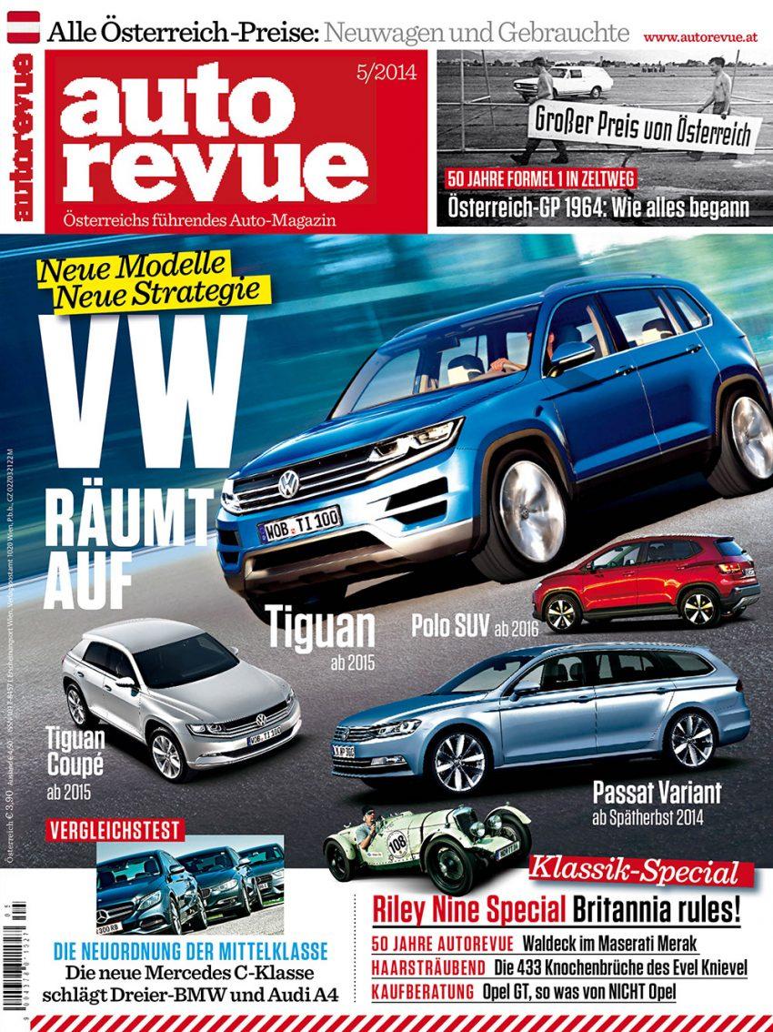 Autorevue Magazin-Archiv: Ausgabe 05/2014