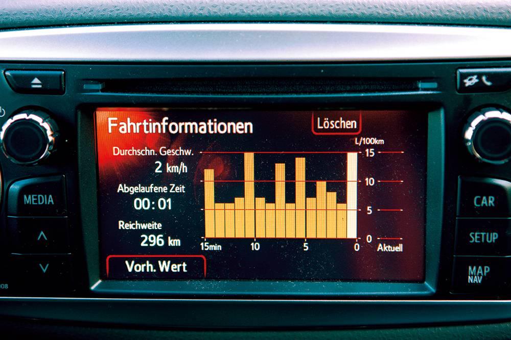 toyota yaris 1,33 multidrives style rot 2012 touchscreen display
