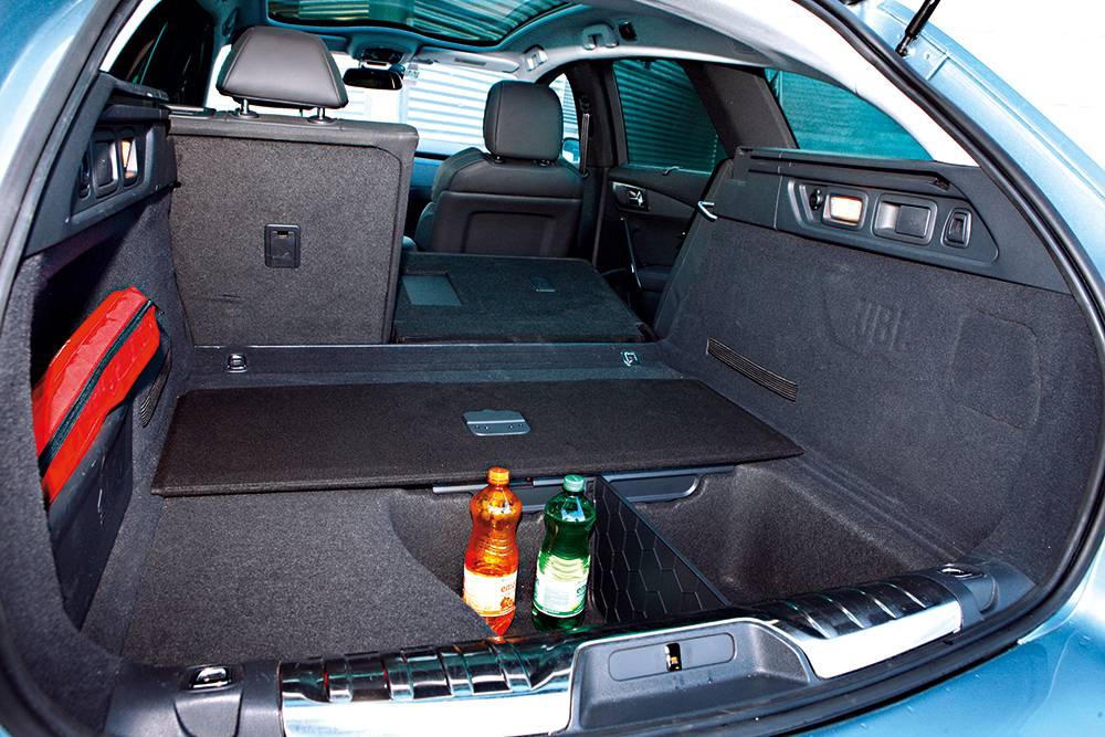 Peugeot 508 SW 2,0 HDi 160 Allure kofferraum hinten
