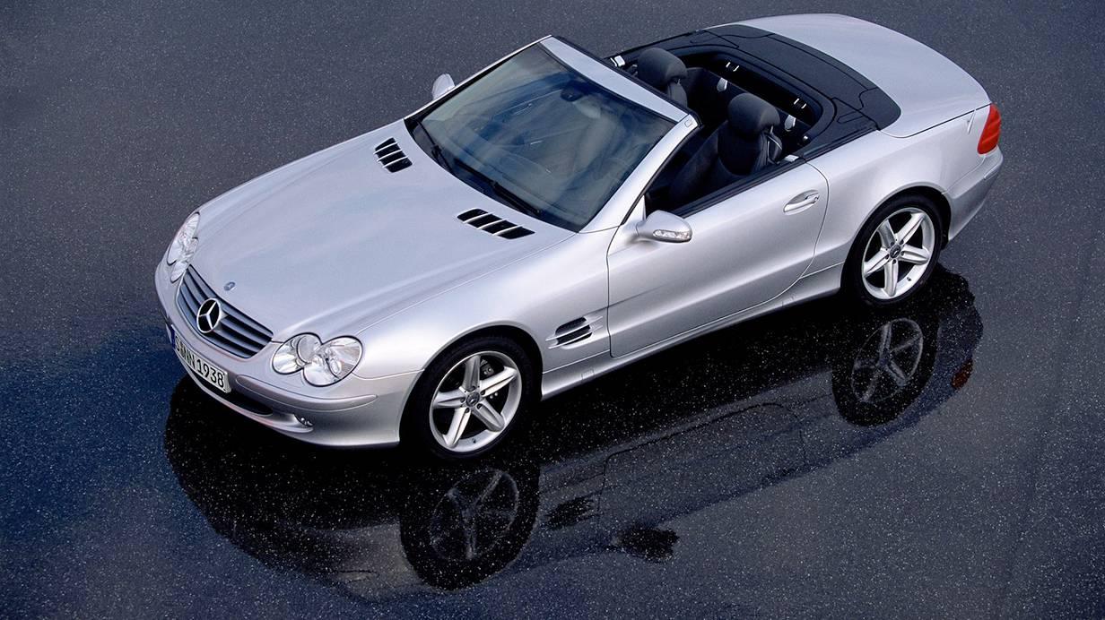 Kaufberatung mercedes benz sl r230 helm ab und gleiten for Mercedes benz helms