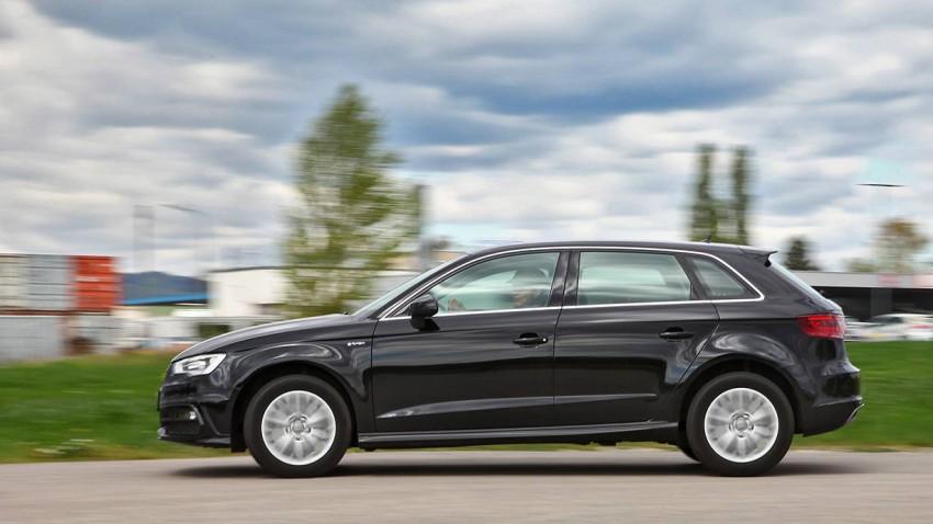 Audi A3 g-tron 2014 seite außen