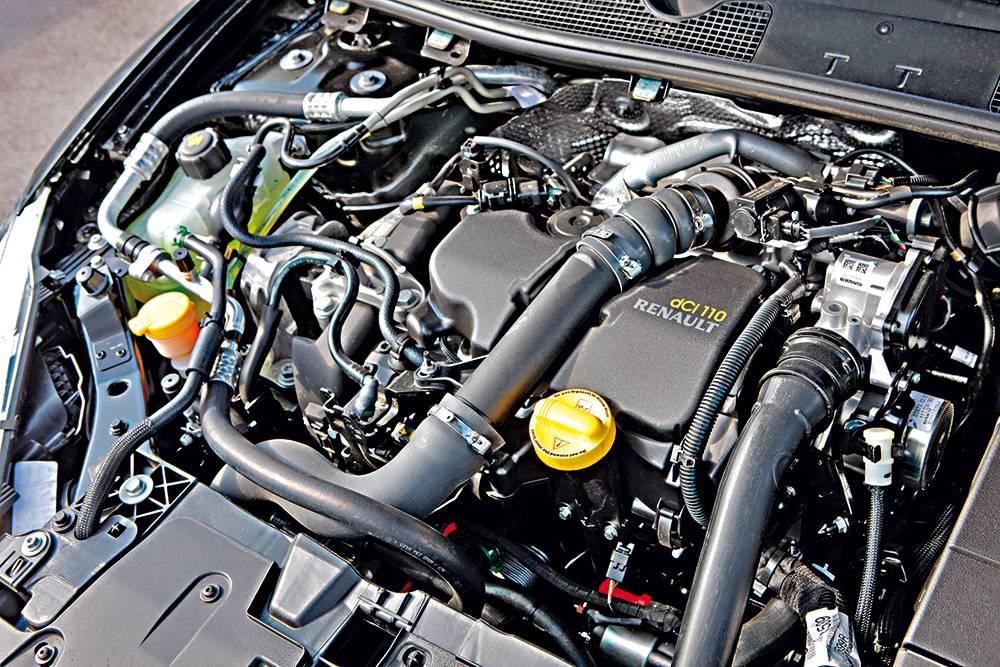 renault megane energy dci 110 bose edition motor motorraum