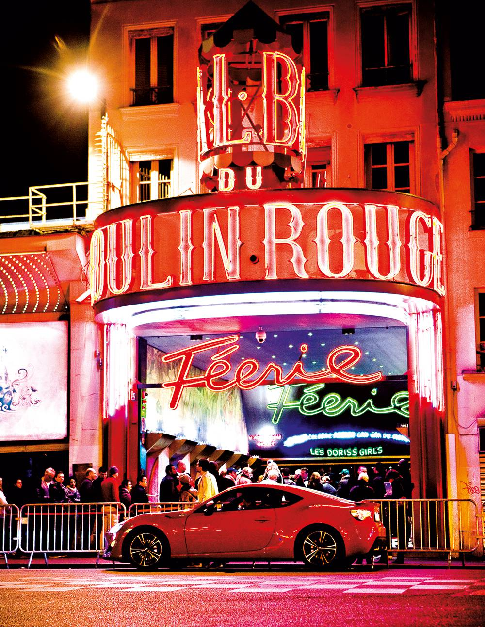 toyota gt86 tour de france dauertest paris moulin rouge