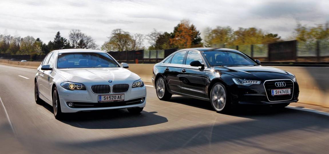 Audi A6 Hybrid & BMW ActiveHybrid 5 vergleich