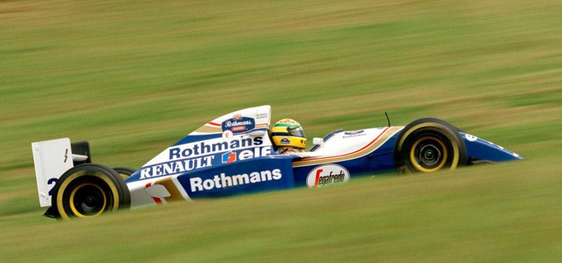 ayrton senna 1994 im Williams FW16