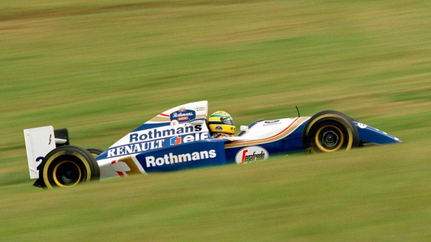 ayrton senna 1994 im Williams FW16
