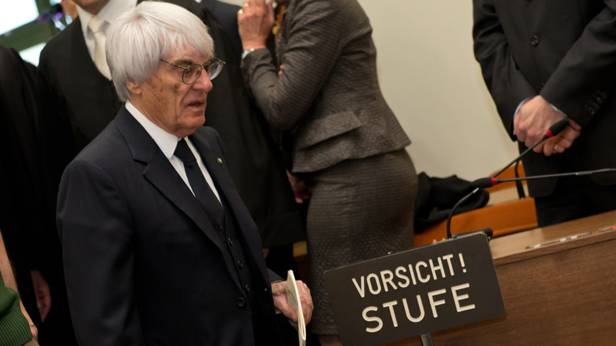 Bernie Ecclestone im Landesgericht München