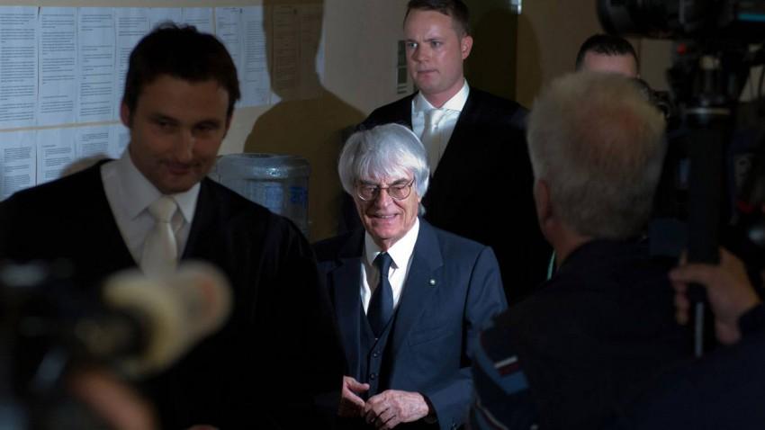 Bernie Ecclestone in München