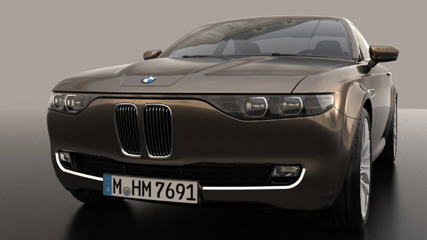 BMW CS Vintage Concept by David Obendorfer