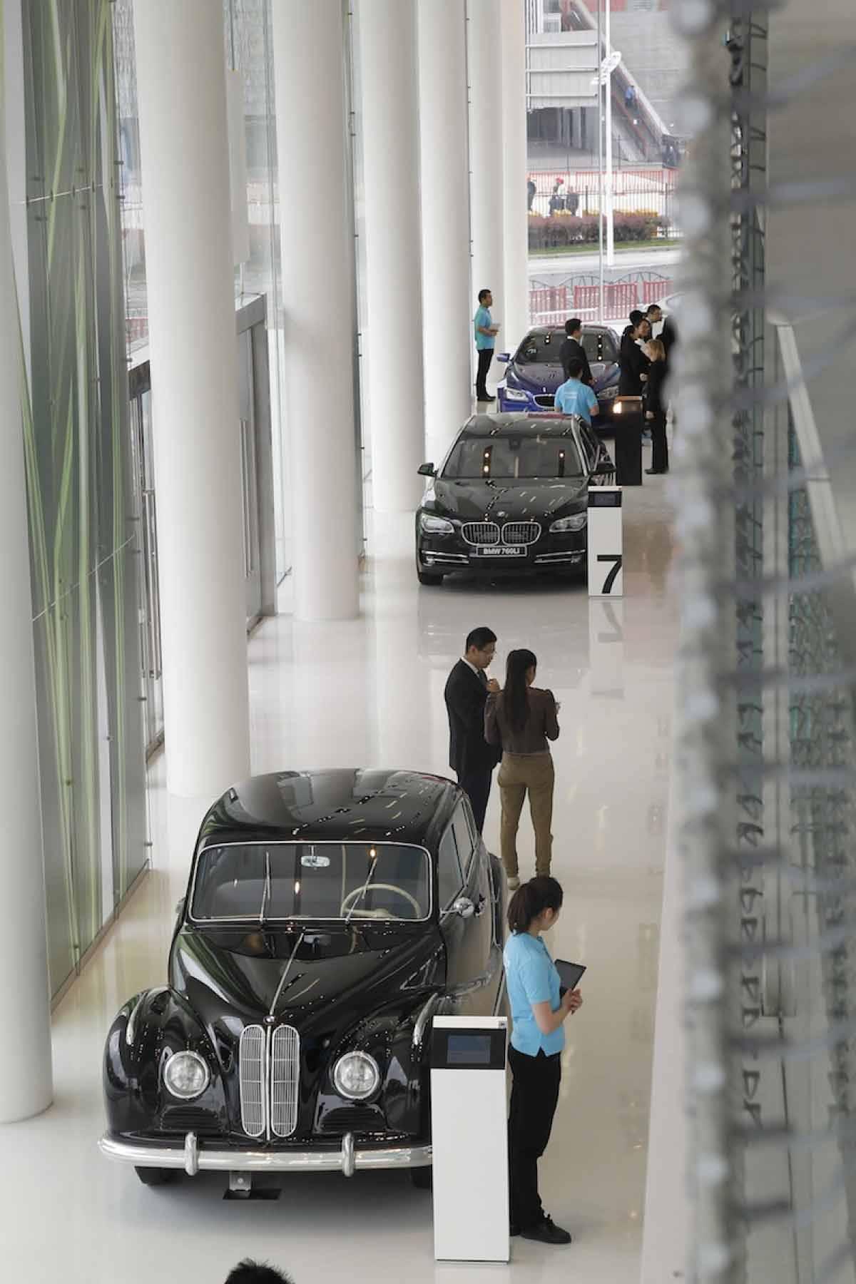 Die BMW-Welt in Shanghai