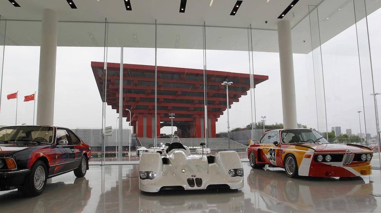 Die BMW-Welt in Shanghai.