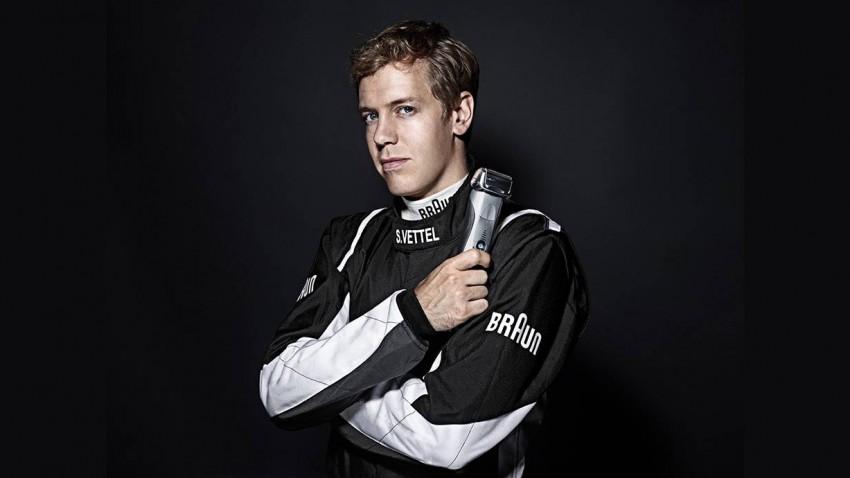 Braun Markenbotschafter Sebastian Vettel