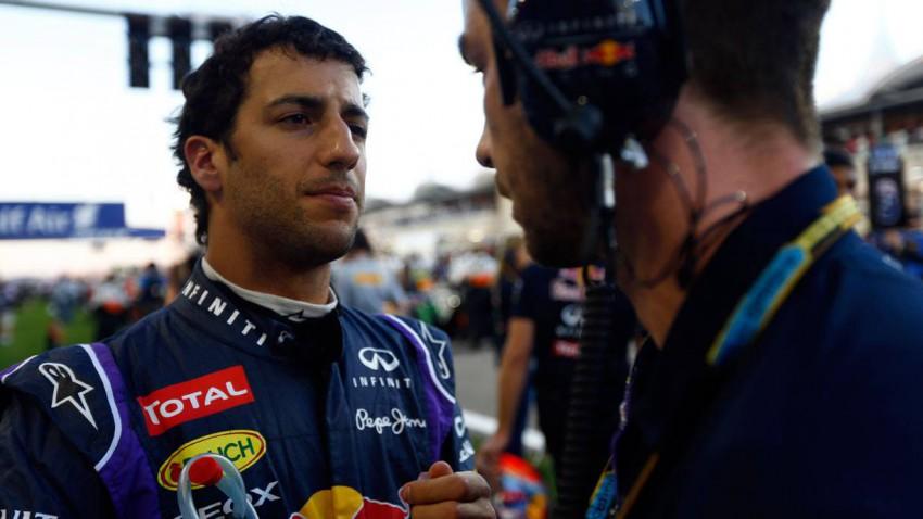 Daniel Ricciardo in Bahrain 2014