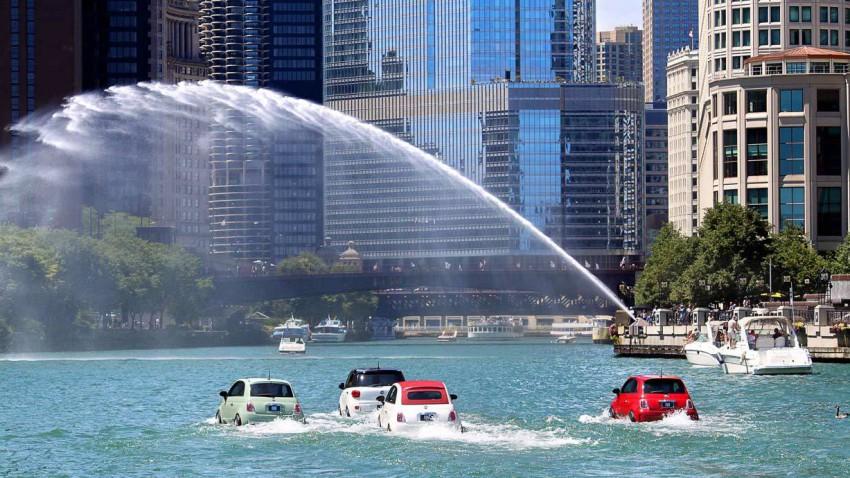 Fiat 500 Watercraft