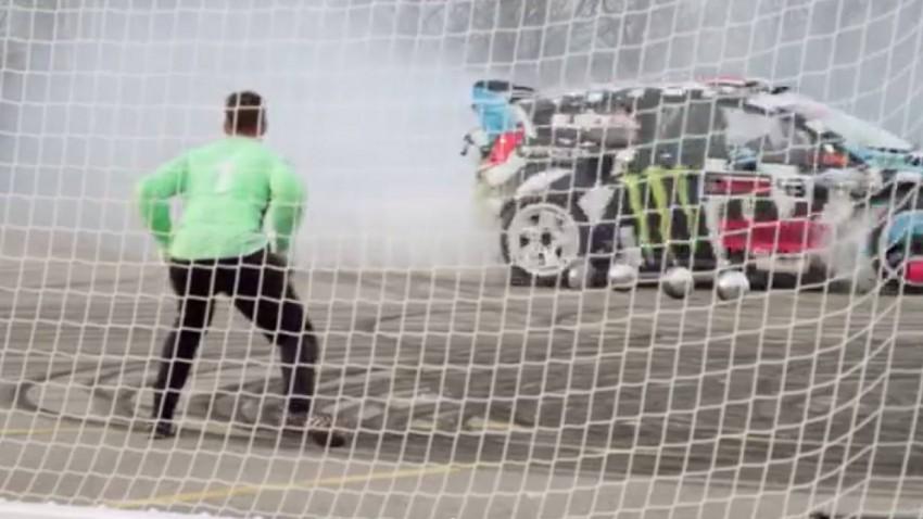 Footkhana-Video: Neymar Jr. vs. Ken Block