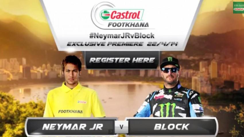 Footkhana Neymar Ken Block Castrol Drift