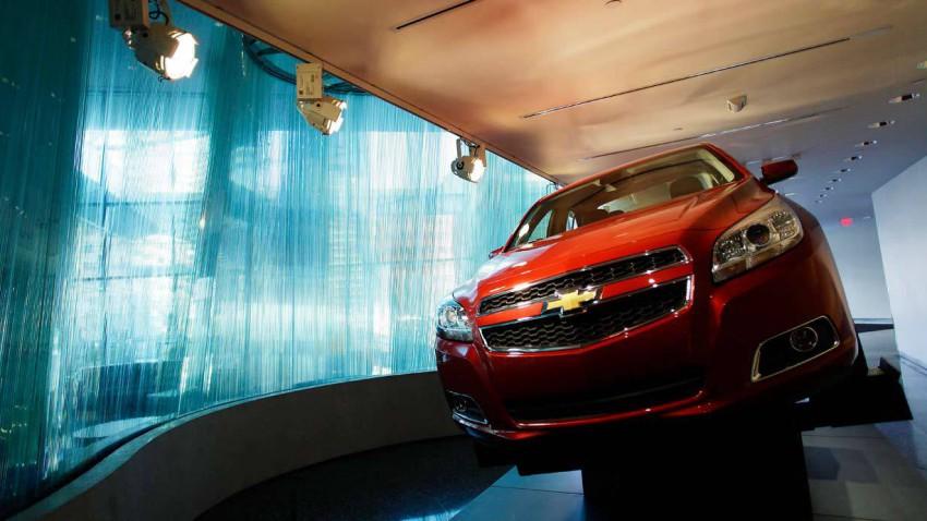 Chevrolet Malibu in der GM-Zentrale