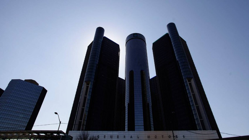 Die General Motors Zentrale in Detroit