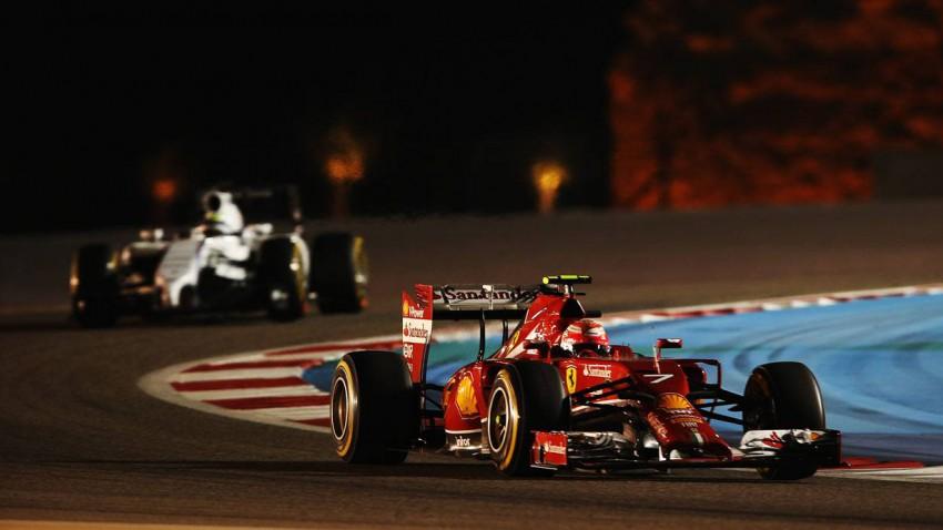 Kimi Raikkonen beim GP von Bahrain 2014