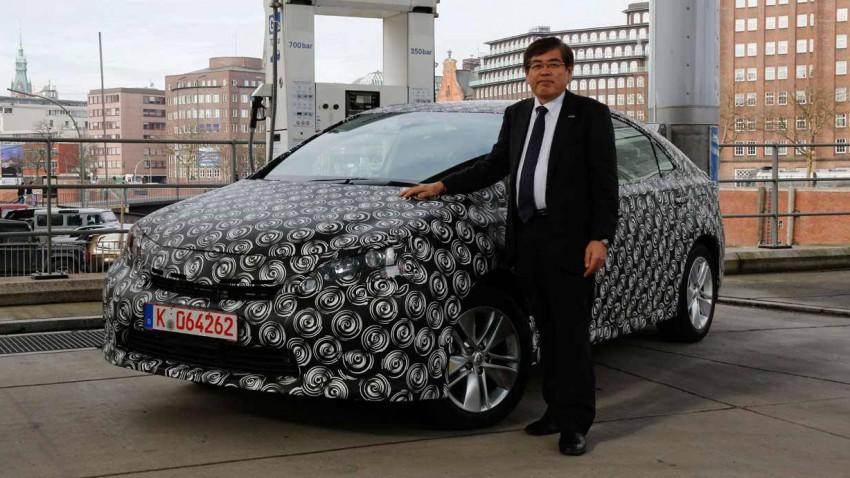 Die Toyota FCV Studie