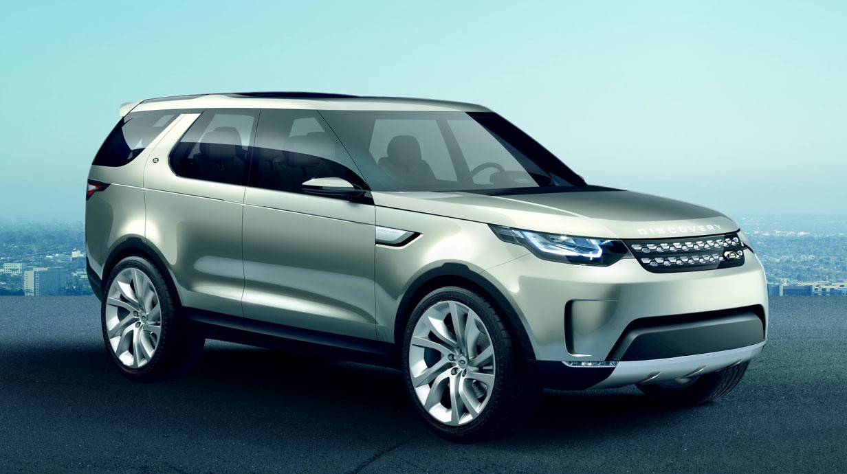 neu land rover discovery vision modellvorstellung. Black Bedroom Furniture Sets. Home Design Ideas